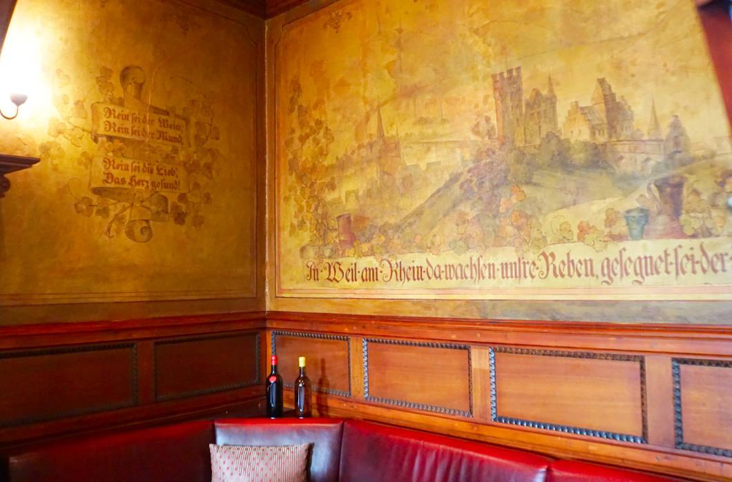 Gastraum Weinhaus Wöhler