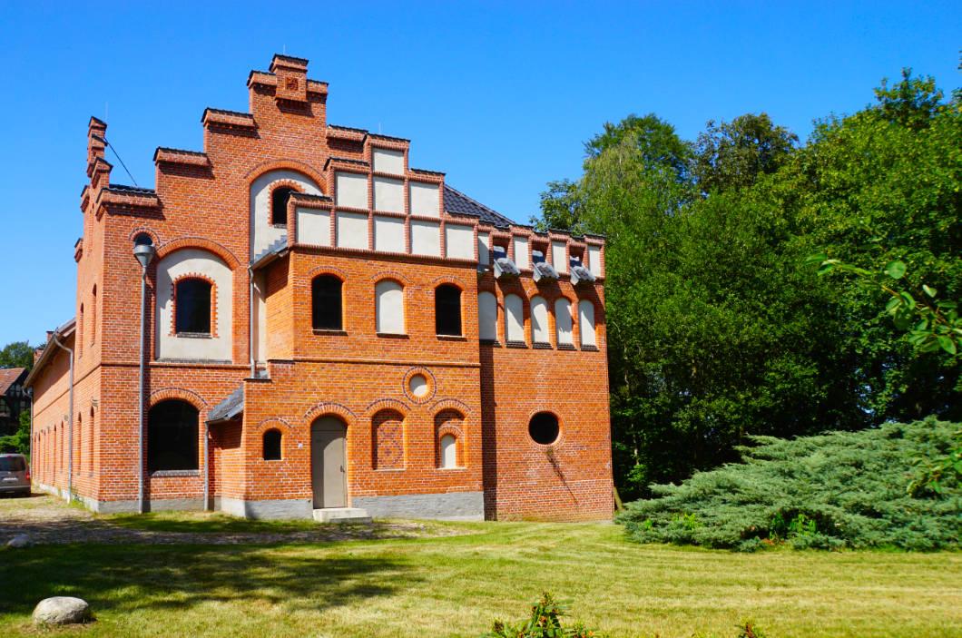 Maschinenhaus Schloss Wiligrad