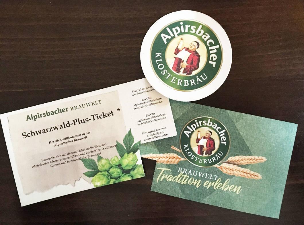 Alpirsbacher Brauerei Eintrittskarten