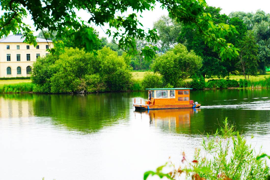 Floß fahren in Schwerin