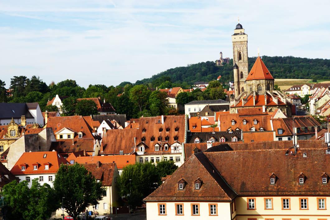 Ausblick auf Bamberg