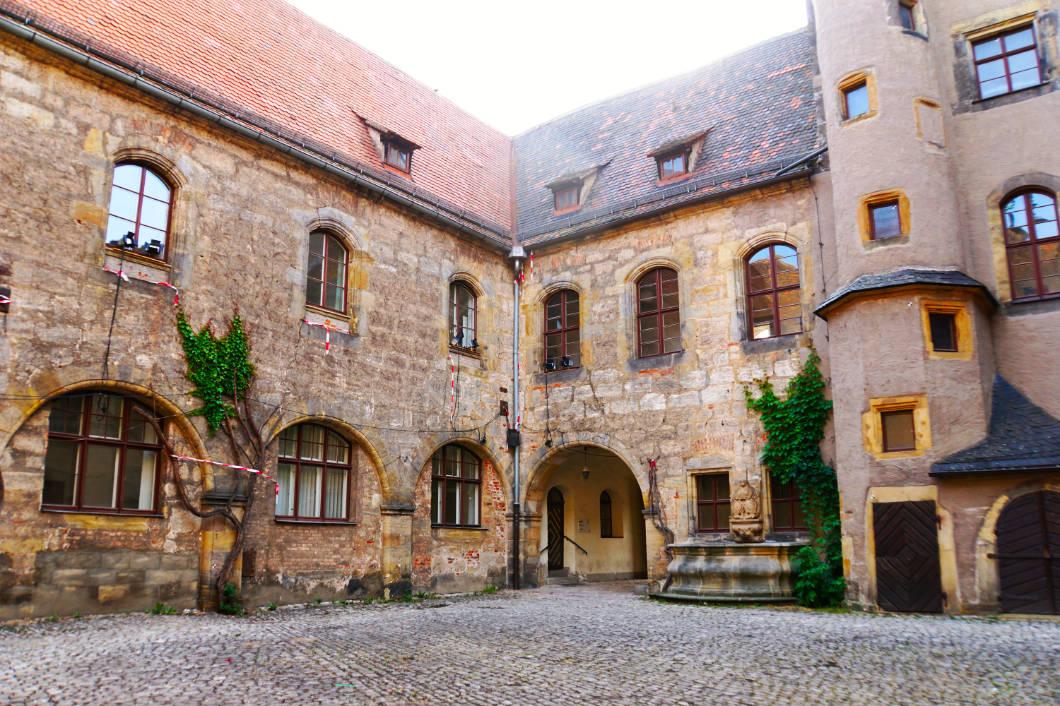 Geyerswörther Schloss - Innenhof