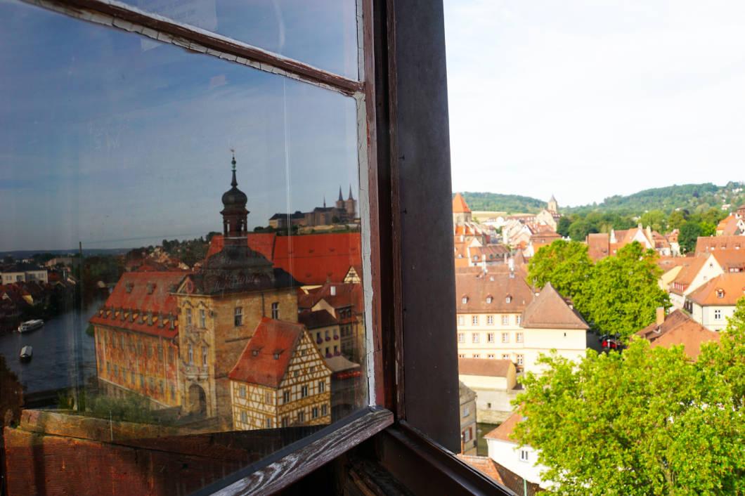 Geyerswörther Turm Fensterblick