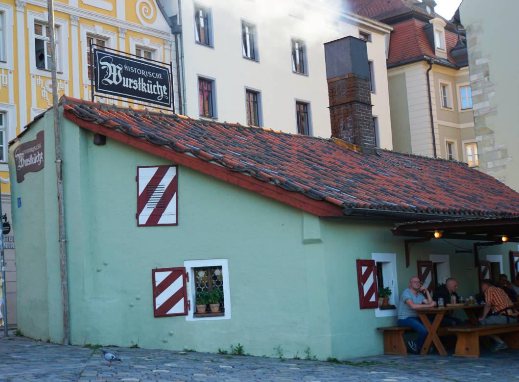 Wurstkuchl von Regensburg