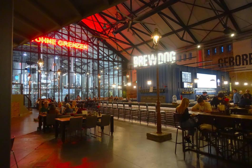 Schottische Brauerei in Berlin - Gastraum