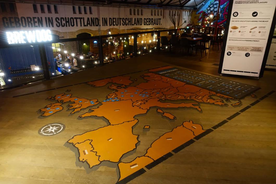 Biermuseum bei BrewDog in Berlin