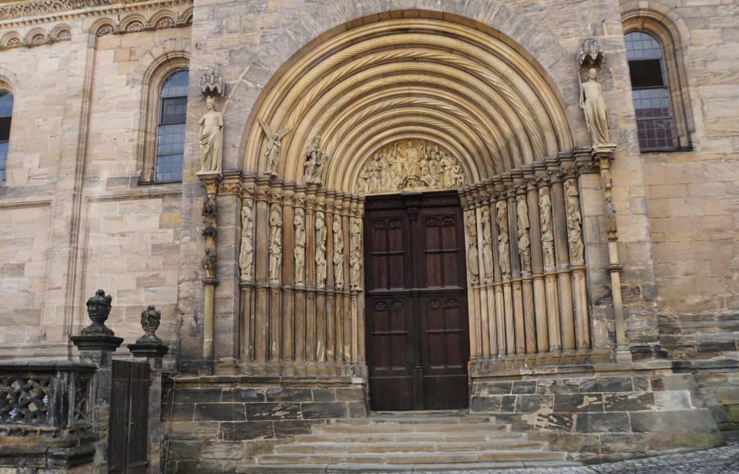 Bamberg Dom Seiteneingang