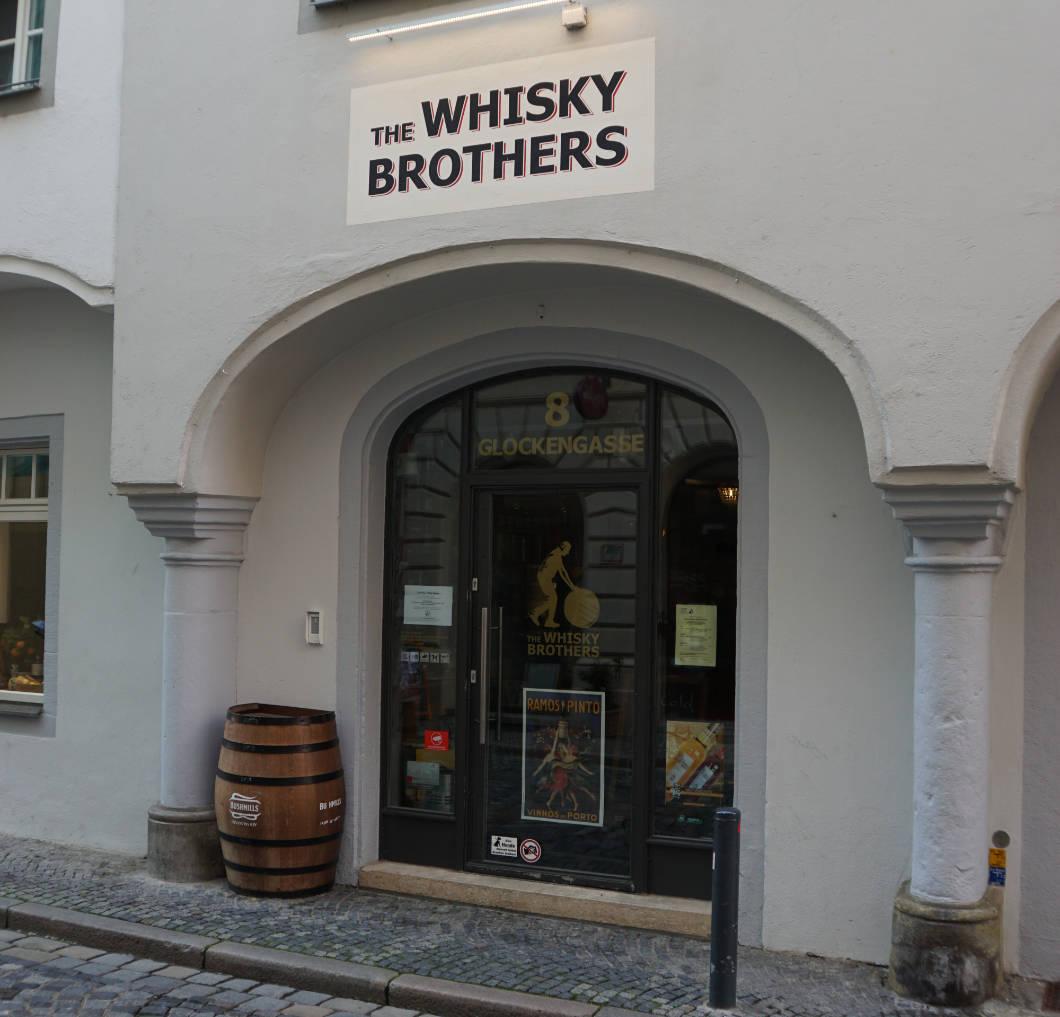 Whiskey Brothers in der Regensburger Altstadt