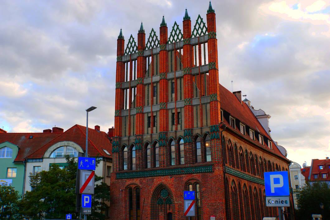 Alte Rathaus von Stettin