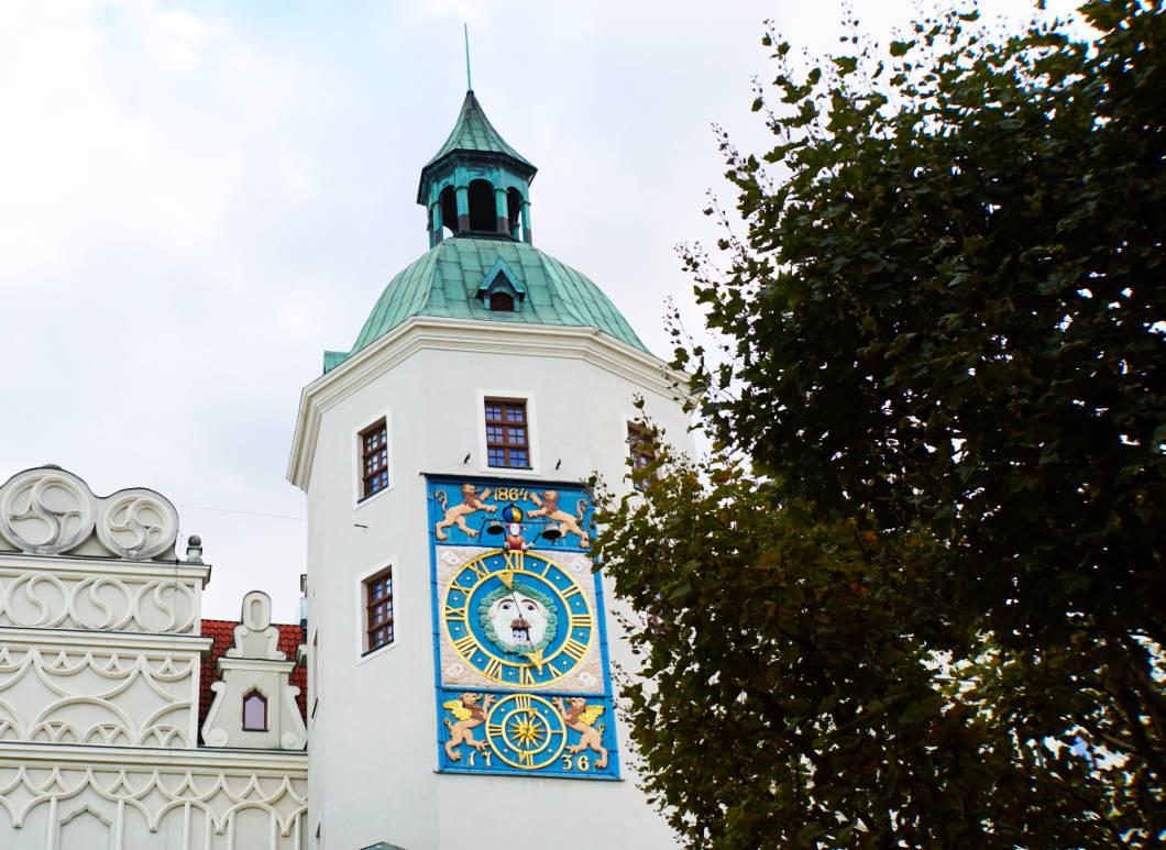 Astronomische Uhr im Schloss Stettin