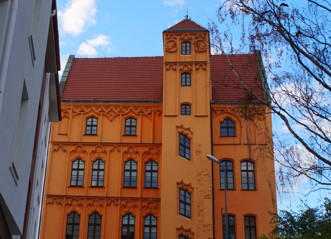 Stettin Roter Weg Loitzenhof