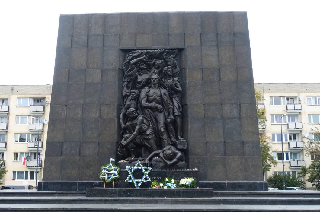 Warschau Denkmal der Helden des Ghettos