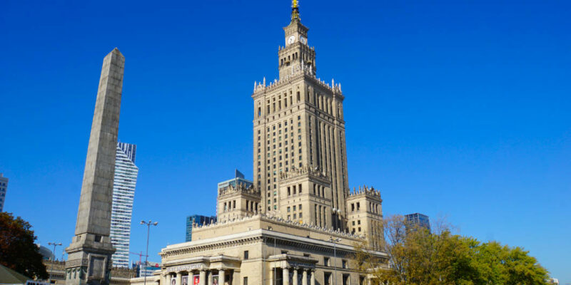 Warschau Kulturpalast