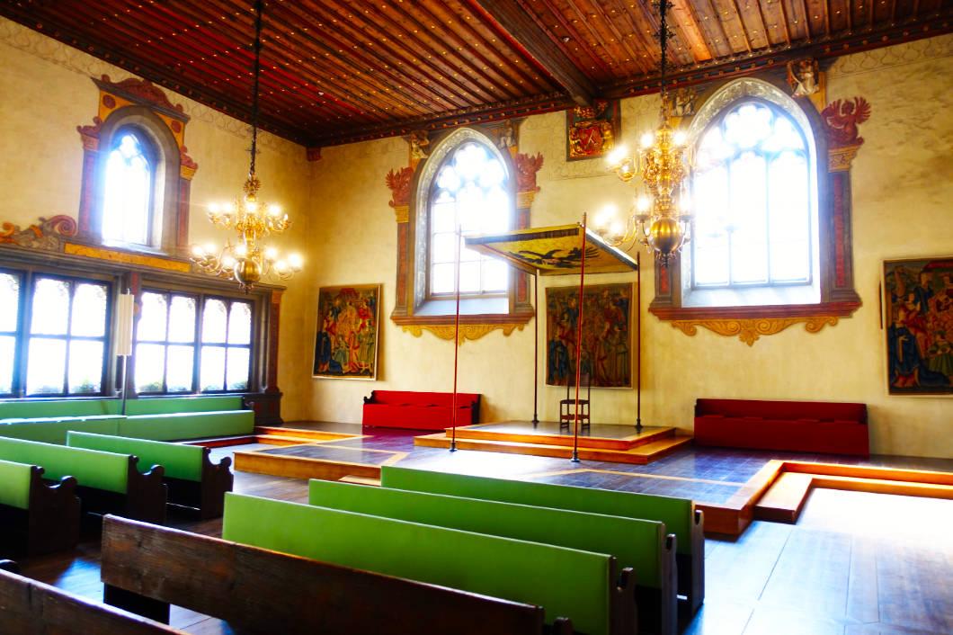 Ratssaal im Alten Rathaus