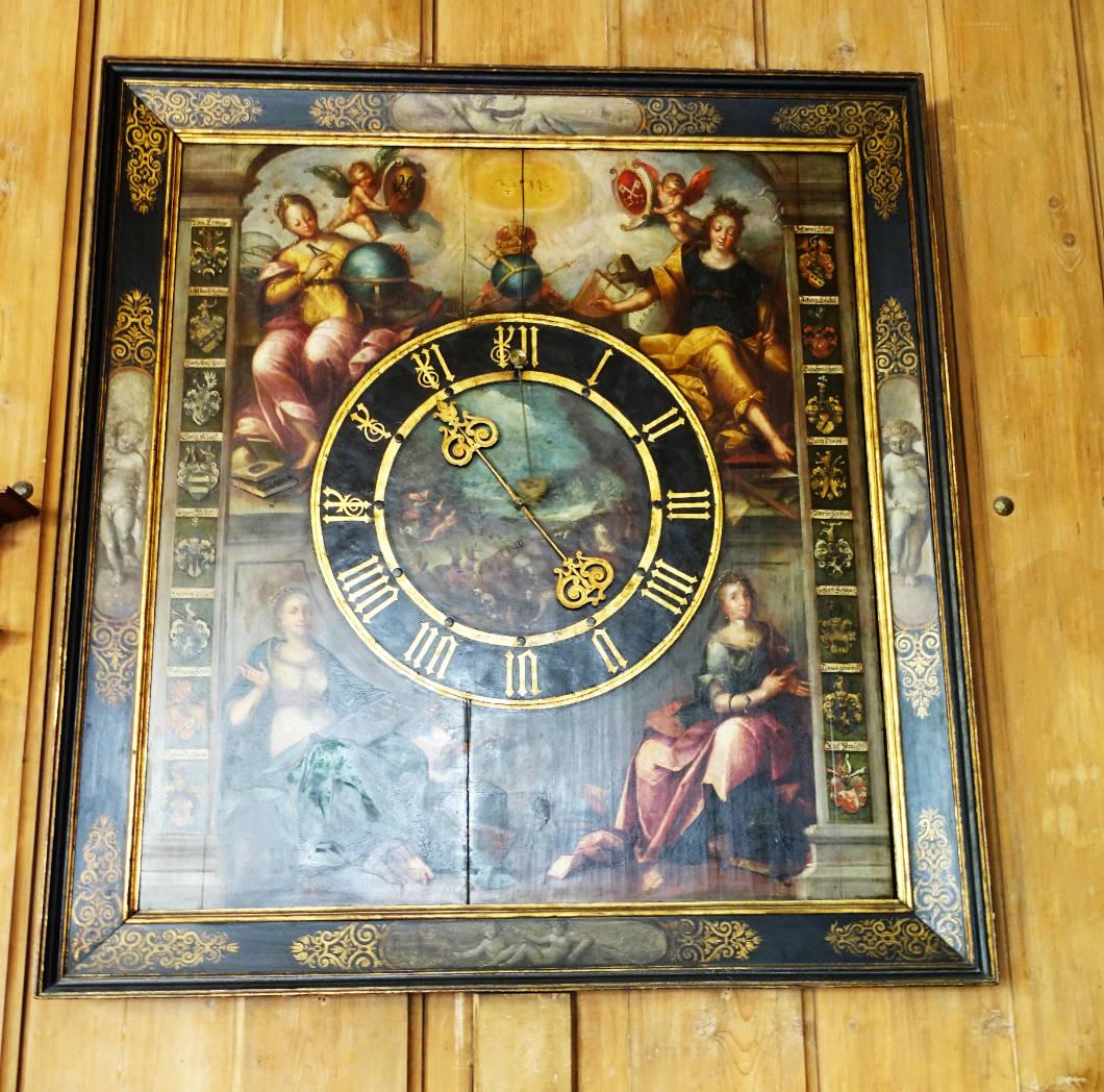 Regensburg wunderschöne alte Uhr