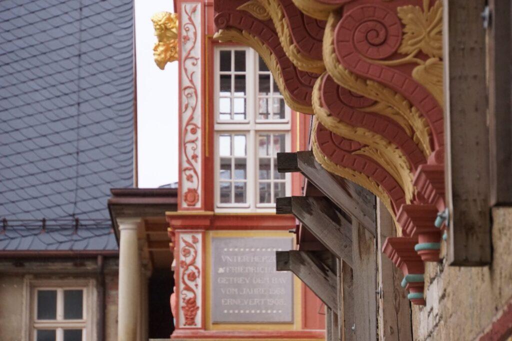 Schlosshof in Bernburg