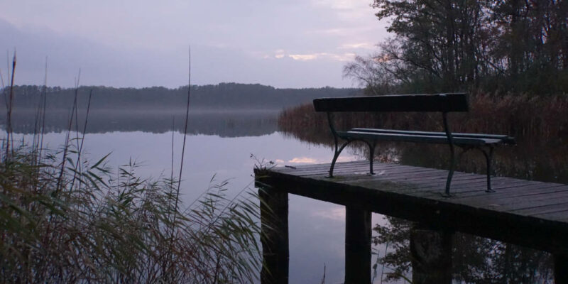 Granzower See am Abend