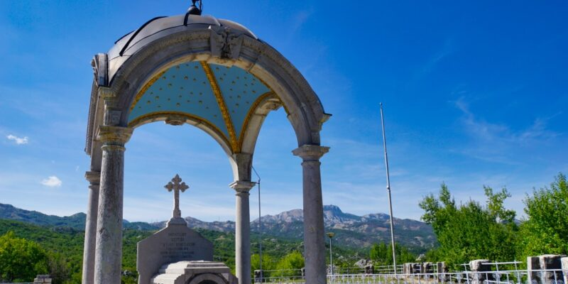Mausoleum in Cetinje Orlov krš