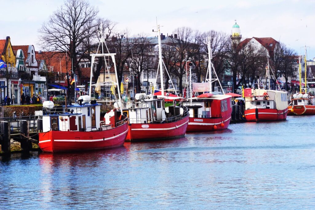 Boote im Alten Strom