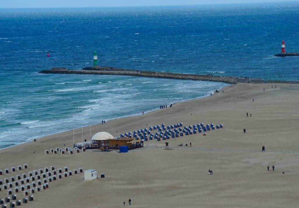 Blick aus dem Hotel Neptun