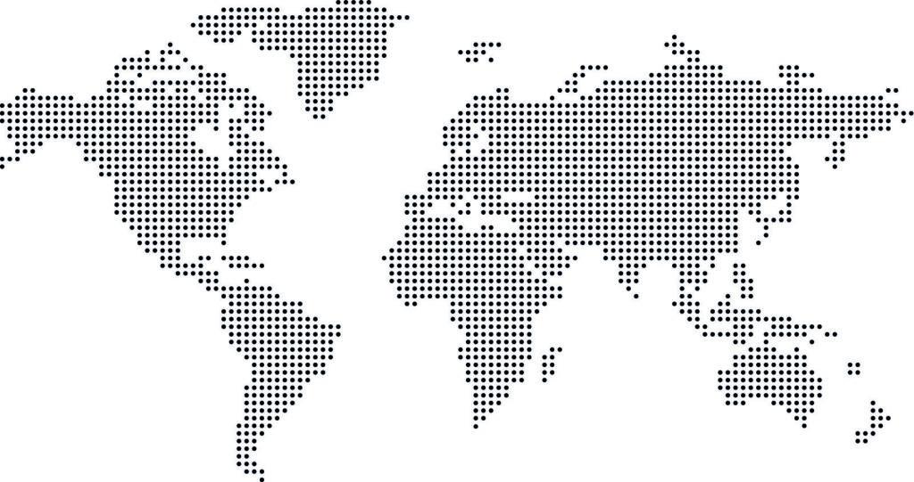 Weltkarte - Reiseziele