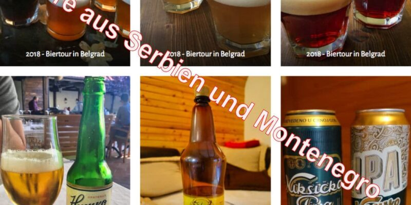 Biere aus Serbien und Montenegro