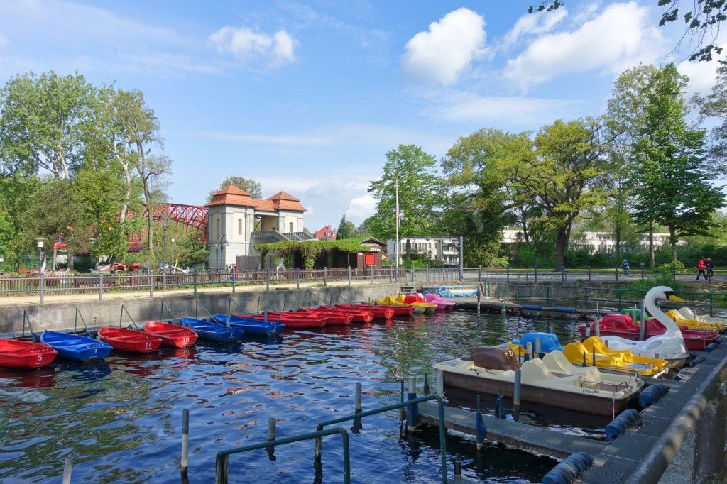 Bootsverleih an der Sechserbrücke