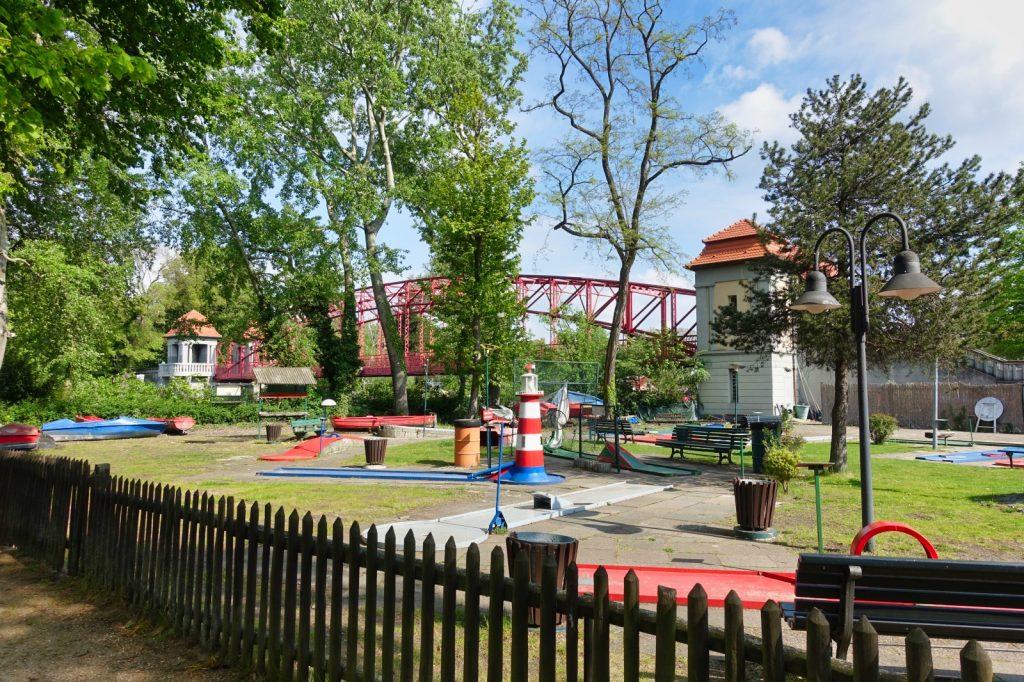 Minigolf Platz