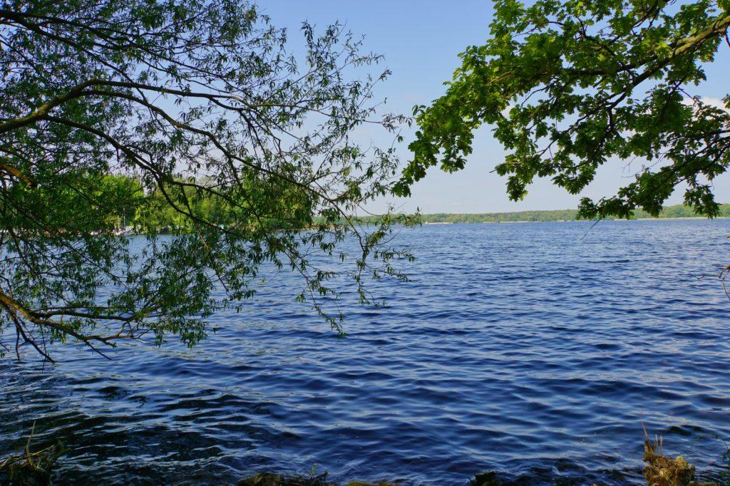 Blick auf den Tegler See