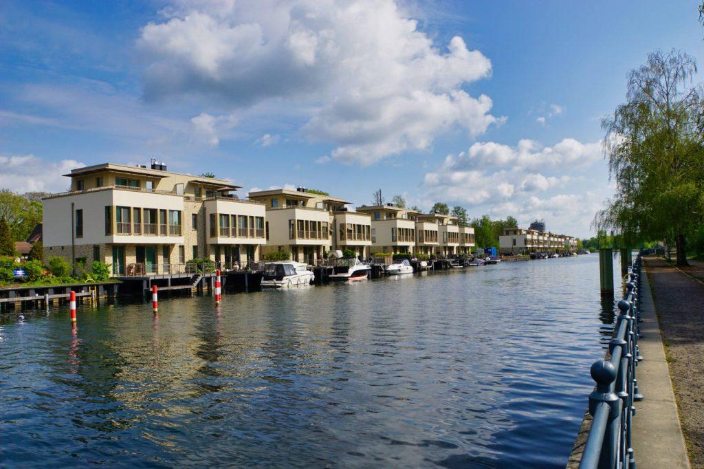 Neubauten am Tegler Hafen