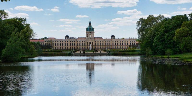 Blick zum Schloss Charlottenburg