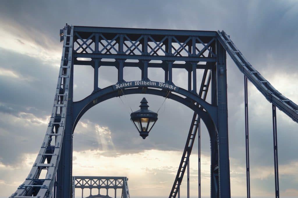 Beleuchtung Kaiser-Wilhelm-Brücke in Wilhelmshaven