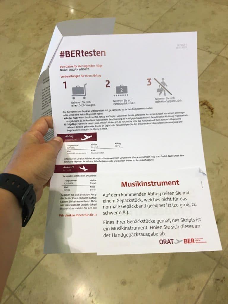 Ablaufplan #BERtesten
