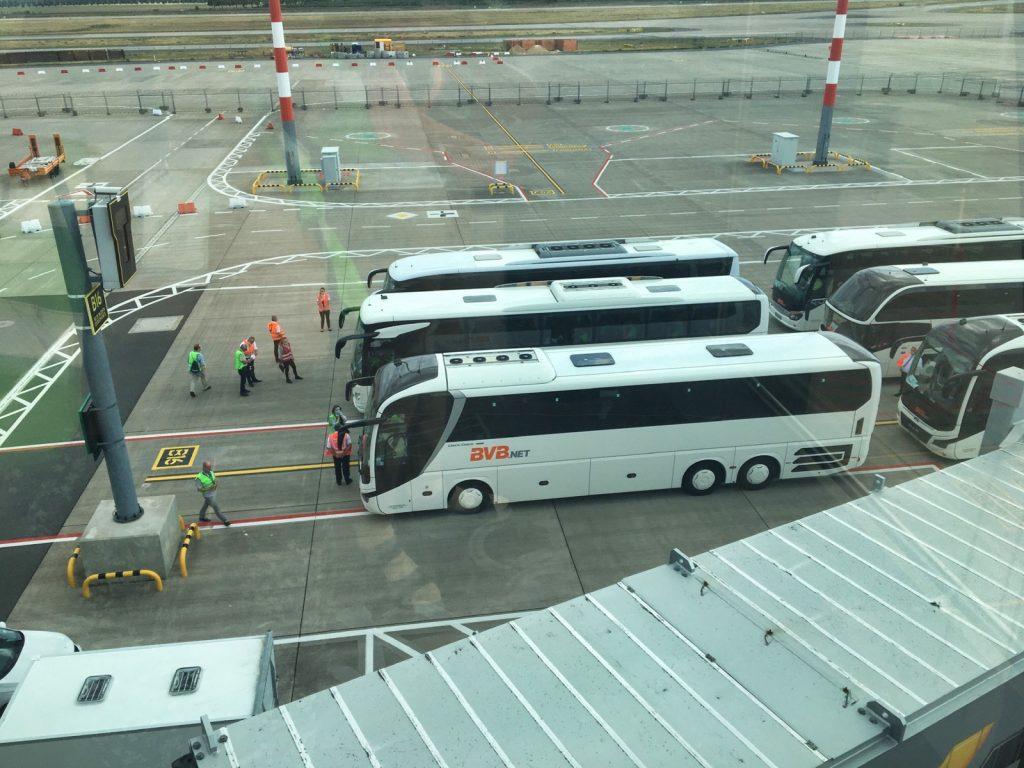#BERtesten - Busse als Flugzeugersatz