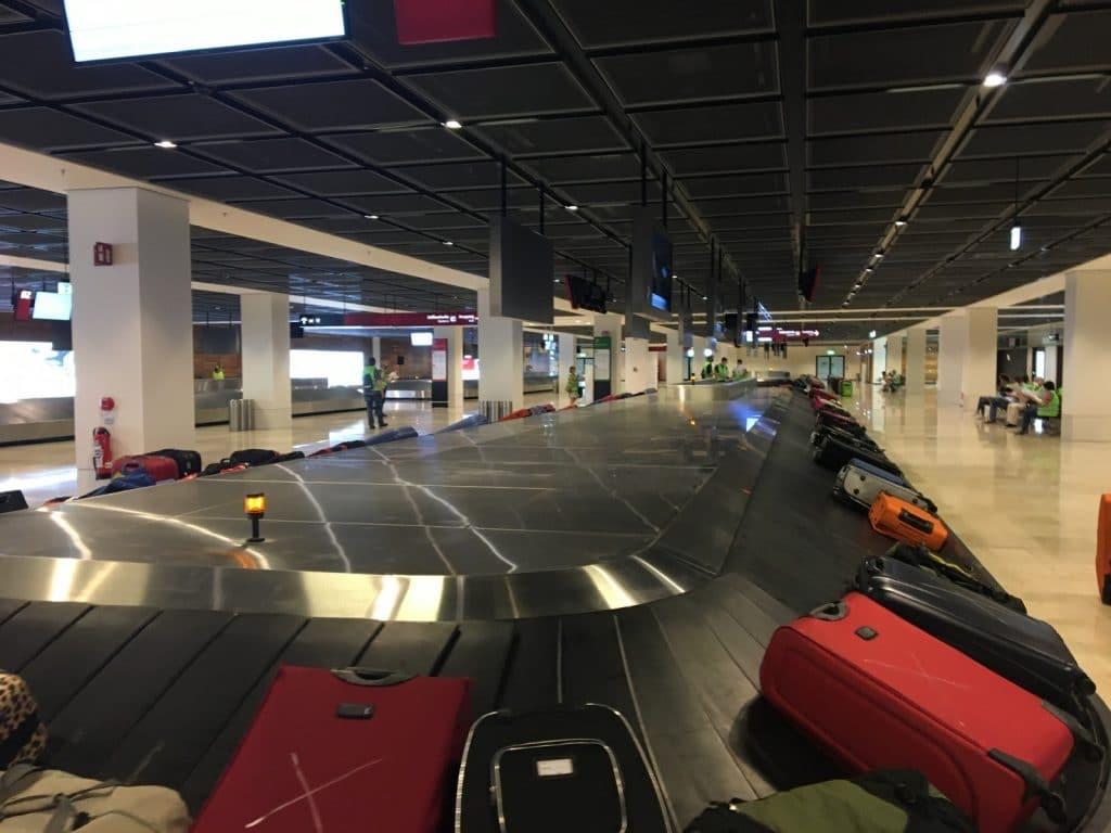Kofferbänder im BER