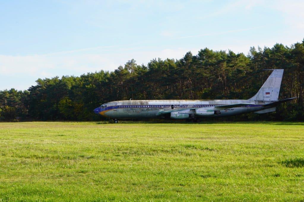 Boing 707 in Tegel