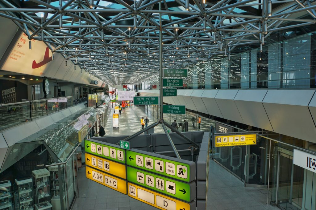 Haupthalle Flughafen Tegel