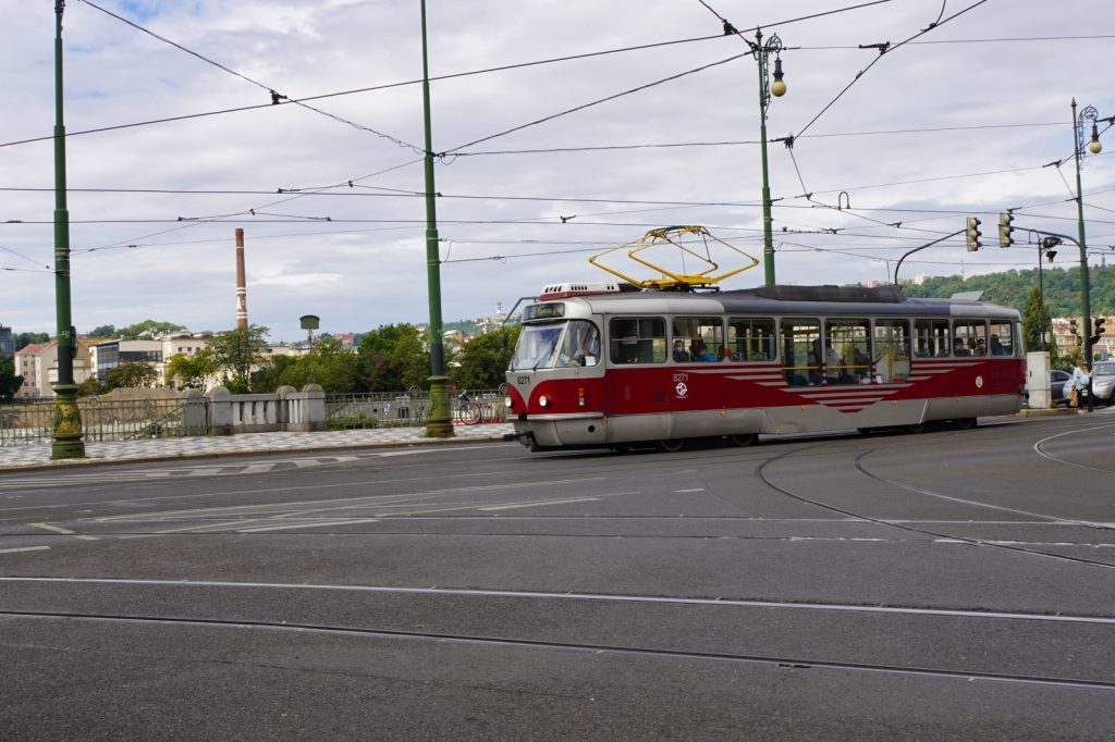 Strassenbahn in Prag- Öffentlicher Personennahverkehr in Prag