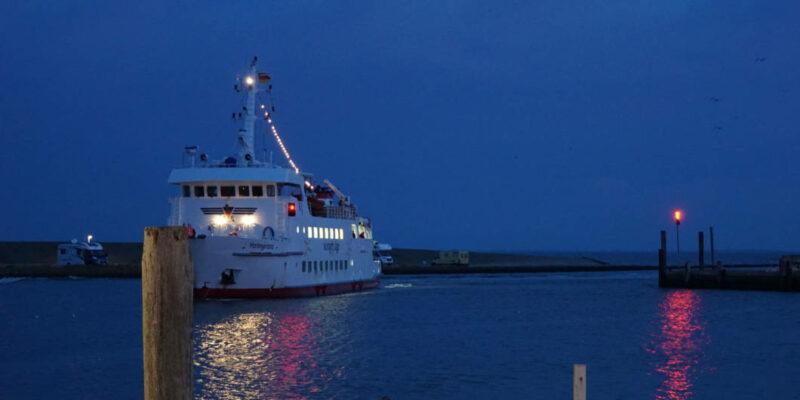 Wangerooge Anreise - Schiff