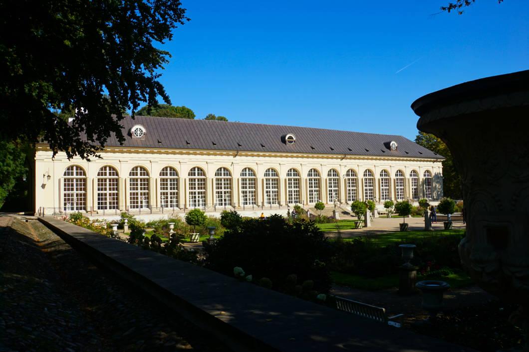 Łazienki-Park die alte Orangerie
