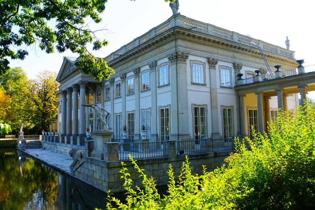 Łazienki-Palast in Warschau