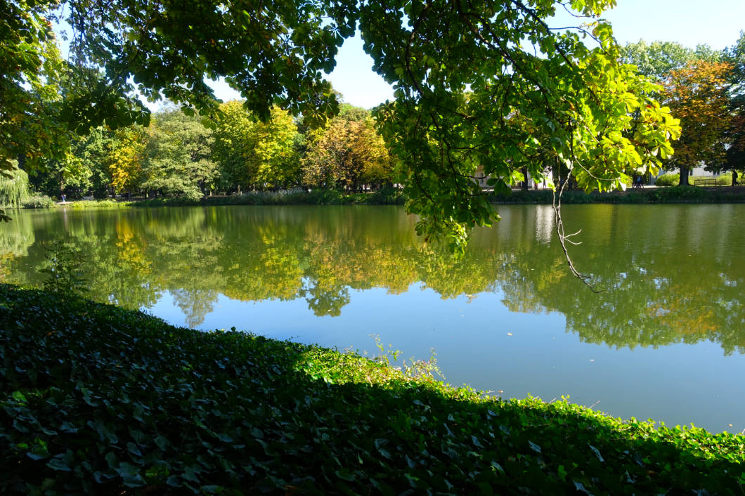Łazienki-Park in Warschau