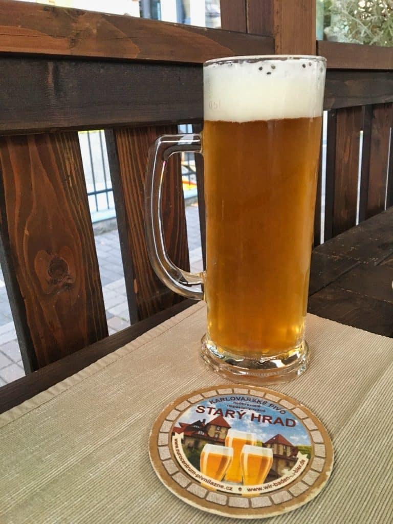 Bier trinken Karlsbad