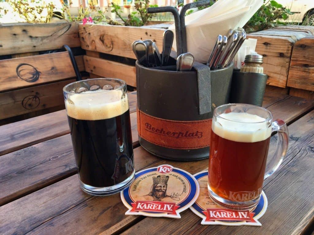 Bier trinken Karlsbad - Karl IV