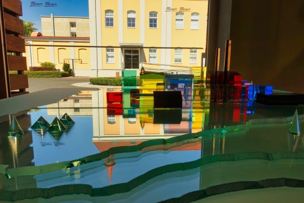 Karlsbader Glaskunst im Glasmuseum Moser