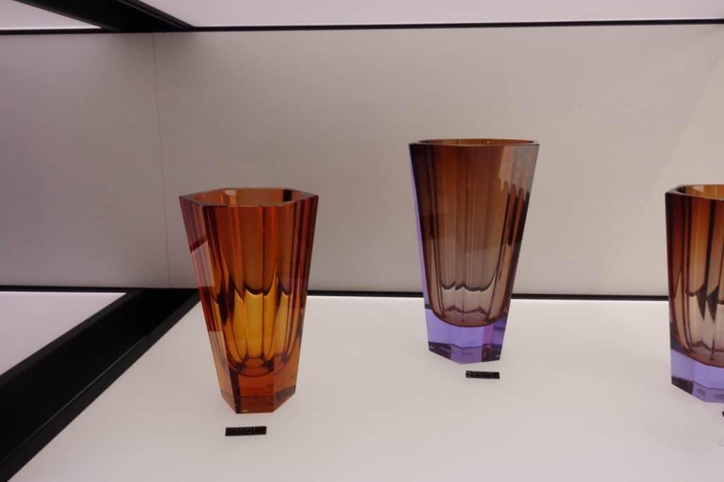 Gläser im Moser Design