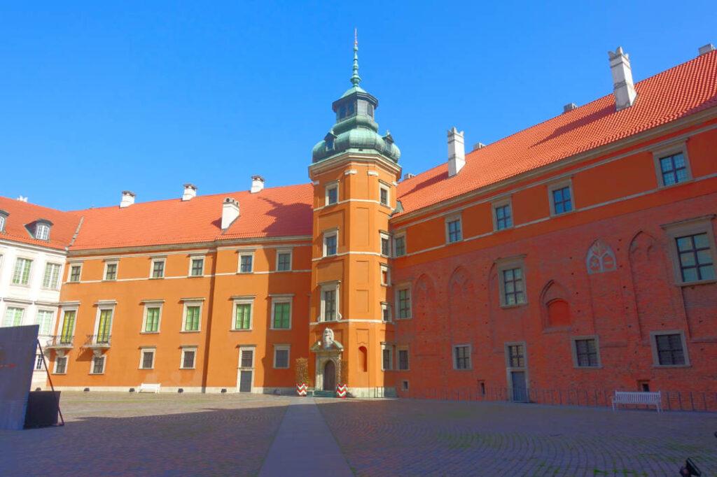 Königsschloss Innenhof
