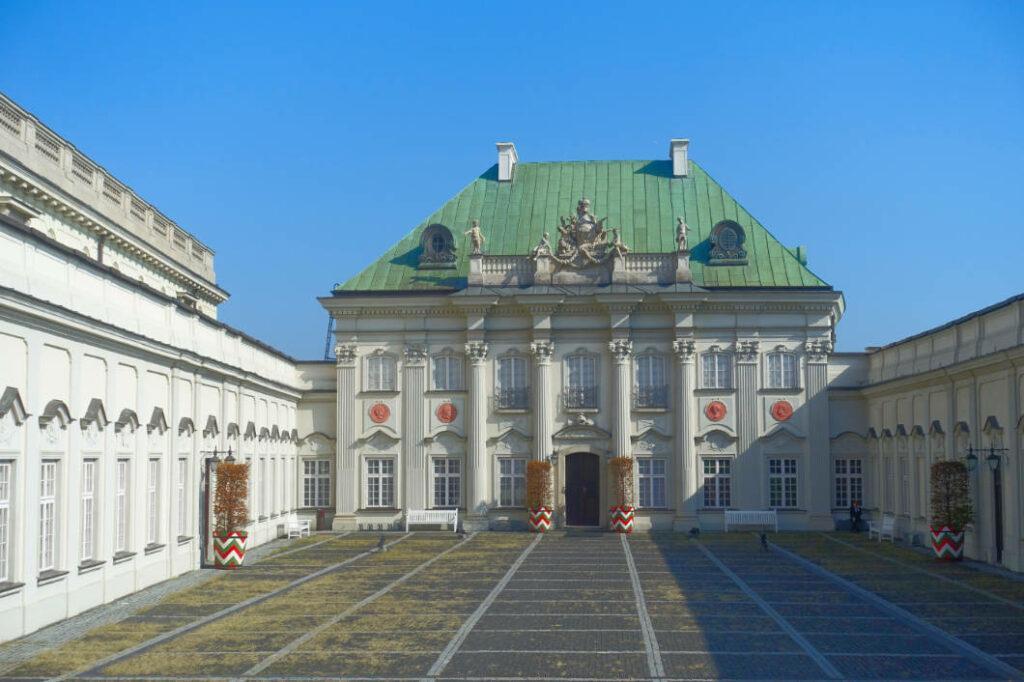 Schlossanbau im Rokokostil