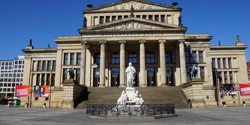 Blick auf das Konzerthaus am Gendarmenmarkt