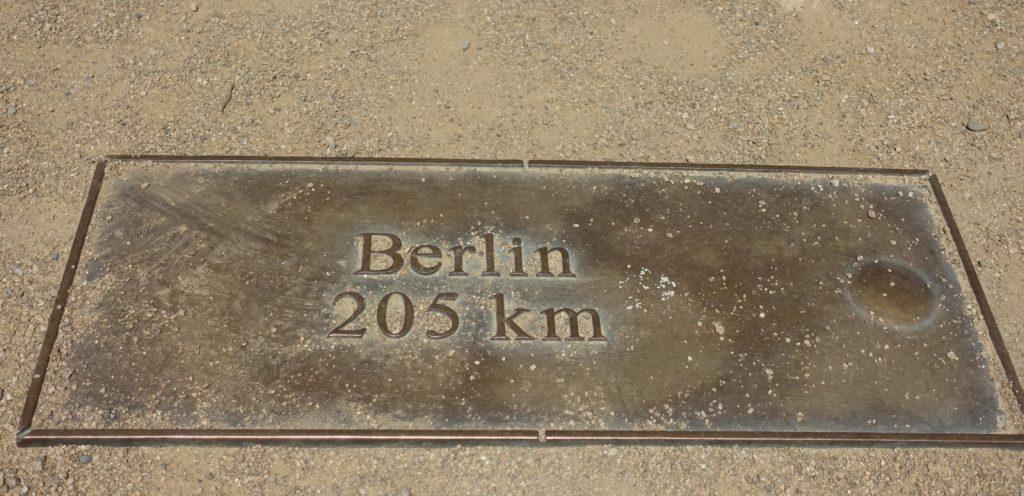 Brockenuhr Richtung Berlin